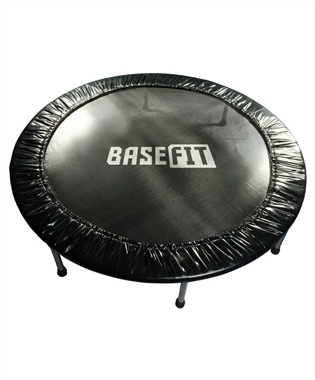 Батут BaseFit TR-101 137 см, черный